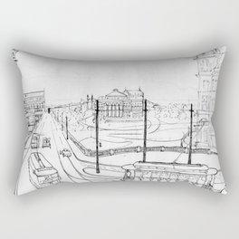 Sao Paulo 1920 Rectangular Pillow
