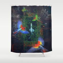 Flight Parrots by GEN Z Shower Curtain
