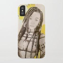 Sunlit Woman iPhone Case