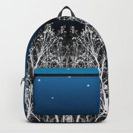 White Woods Moon Backpack