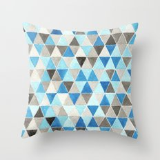#54. CHRIS - Triangles Throw Pillow