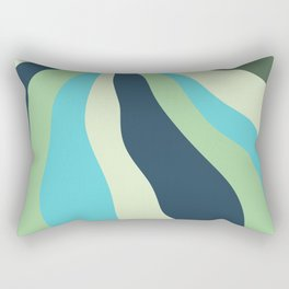 Underwater river Rectangular Pillow