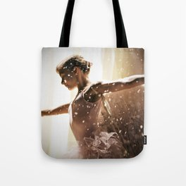 Angel Ballerina Tote Bag