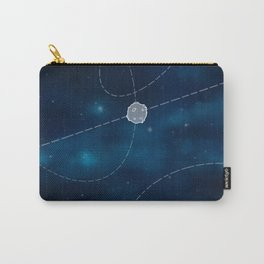 Universe planets-blue Carry-All Pouch