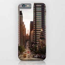 Lingering in San Francisco iPhone Case