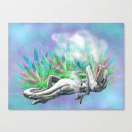 weed trex Canvas Print
