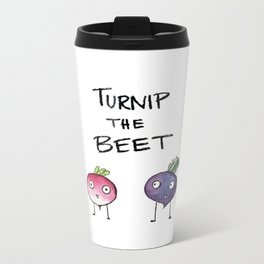 Turnip the Beet Metal Travel Mug