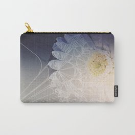 Webbed Flower Carry-All Pouch