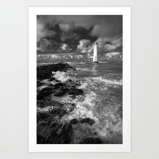 New Brighton Art Print