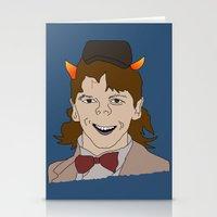 fandom Stationery Cards featuring Fandom Monster by Dansparce