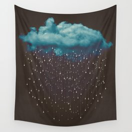Let It Fall Wall Tapestry