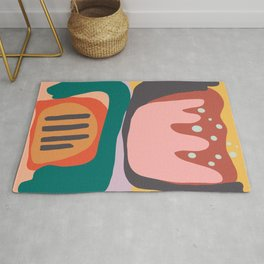 The Idea of Flowers Rug