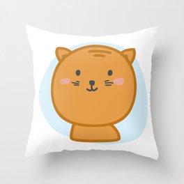 moew *i can customize your cat Throw Pillow