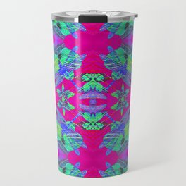 Dragonflies Patterns CB Travel Mug