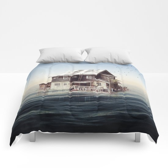 Home on the water Comforters