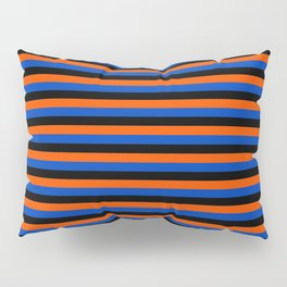 Color Stripe _001 Pillow Sham