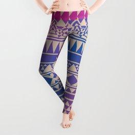 Aztec Pattern No. 15 Leggings