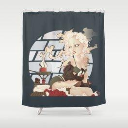 Hot Choklate Shower Curtain