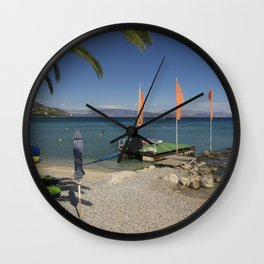 Ipsos beach Wall Clock