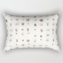 butts Rectangular Pillow