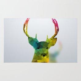 Glass Animal - Deer head Rug