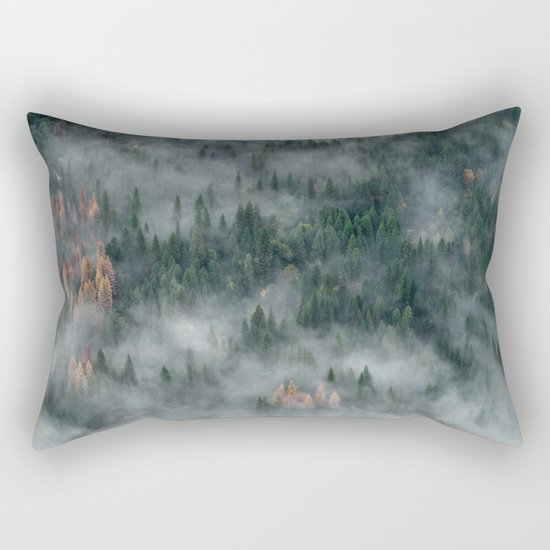Woods landscape Rectangular Pillow