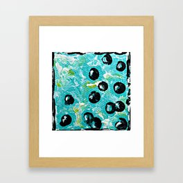 Bubbles 2 Framed Art Print