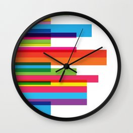 sexy colors Wall Clock