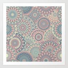 Mandala (Floral 002) Art Print