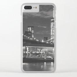 New York Magic Clear iPhone Case