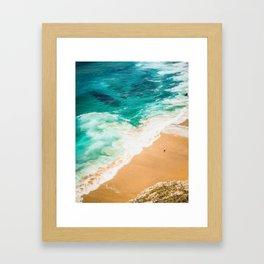 Man and the Sea Framed Art Print