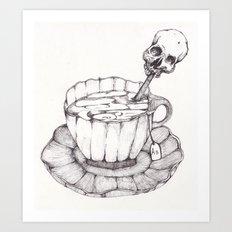 AS TEA Art Print