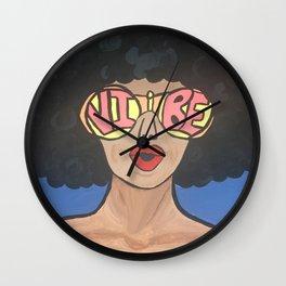 Valencia Vibe Wall Clock