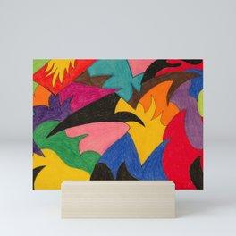 Smolder Party Mini Art Print