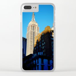 Empire State of Mind Clear iPhone Case