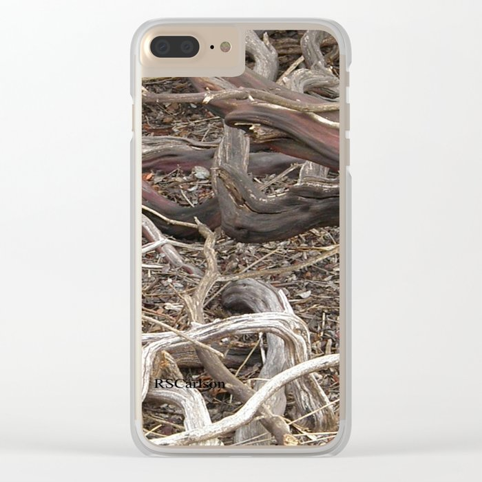 TEXTURES - Manzanita in Drought Conditions #3 Clear iPhone Case
