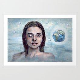 Save our World 23 Art Print