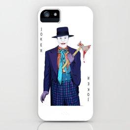 Jack the Joker iPhone Case