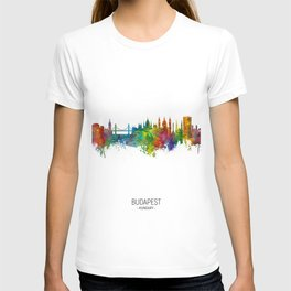 Budapest Hungary Skyline T-shirt