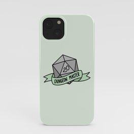 Dungeon Master D20 iPhone Case