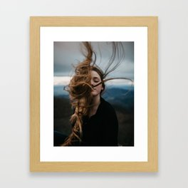Symmetry Of Wind Framed Art Print