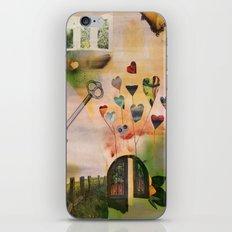 Hearts Door iPhone & iPod Skin