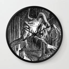 The Jabberwocky Wall Clock