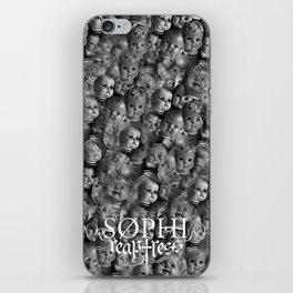 Creepy baby iPhone Skin