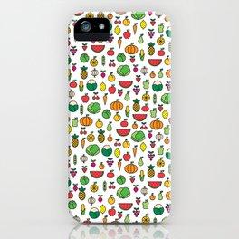 fruits & vegetables iPhone Case