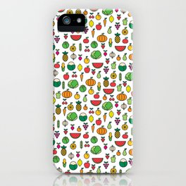 fruits & vegetables iPhone Case