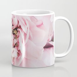 Pink Blush Peonies Coffee Mug