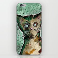 Turtle the turtle shell zombie kitten iPhone & iPod Skin
