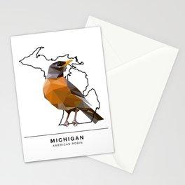 Michigan – American Robin Stationery Cards