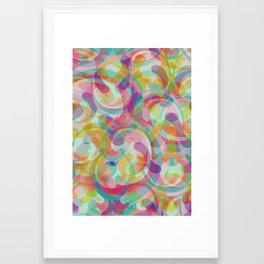 Swirl II Framed Art Print